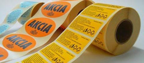 Grafické etikety – etikety podľa vlastného návrhu